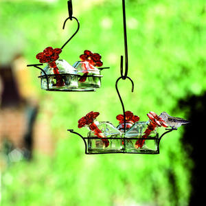 ParaSol Glass Hanging Feeders